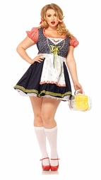 Plus Size Beer Stein Babe Costume