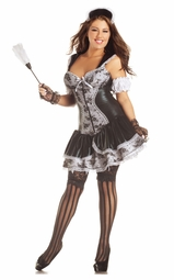 Plus Size French Maid Shaper Costume