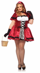 Plus Size Gothic Red Riding Hood