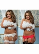 Plus Size Premium Lace Garter Belt with Adjustable Back inset 1