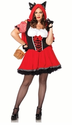 Plus Size Red Riding Wolf Costume