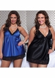 Plus Size Satin Babydoll and Thong inset 4