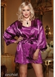Plus Size Satin Robe and Low Back Slip inset 3