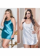 Plus Size Satin Slip (available in 9 colors) inset 1