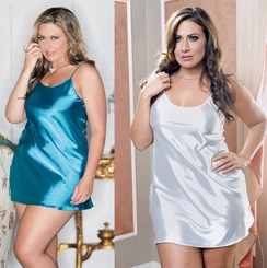 Plus Size Satin Slip (available in 9 colors)