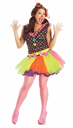Plus Size Sexy Clown Costume