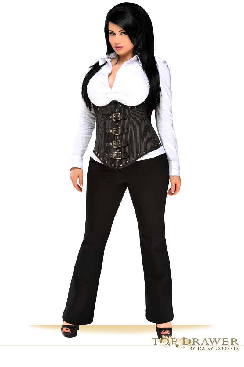 What is a steel boned corset