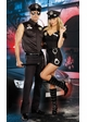 Plus Size Sultry Cop Police Costume