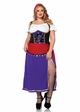 Plus Size Traveling Gypsy Halloween Costume inset 1