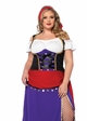 Plus Size Traveling Gypsy Halloween Costume inset 2