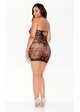 Plus Size Tube Mini Dress inset 1