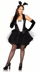 Plus Size Tux And Tails Bunny Costume
