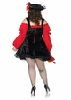 Plus Size Vixen Pirate Wench Costume inset 1