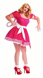 Plus Size Wind Up Doll Costume