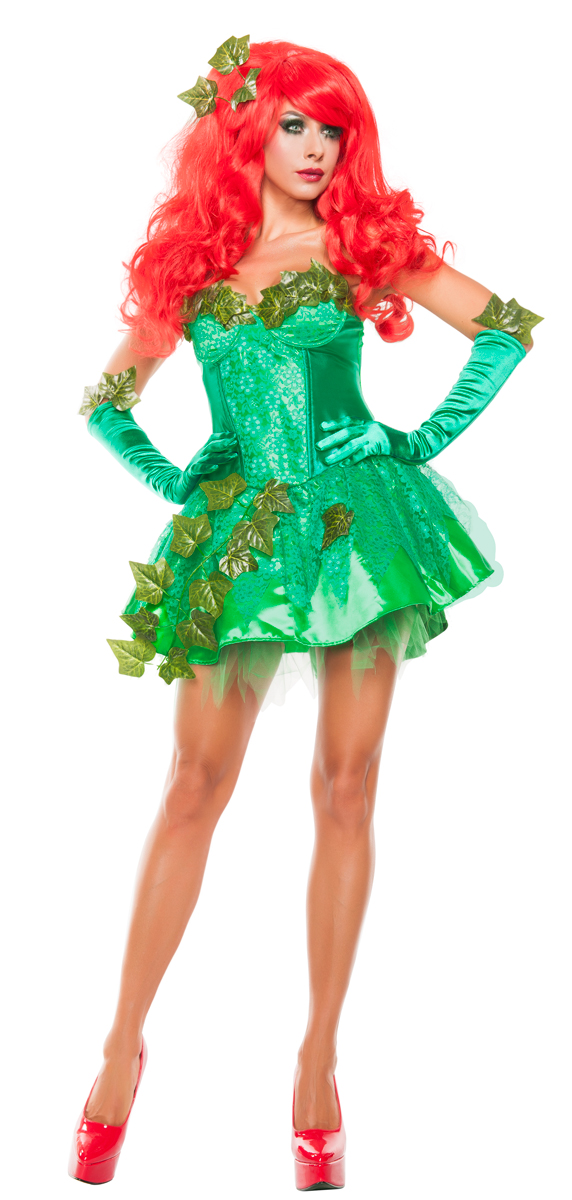 The Gallery For Gt Poison Ivy Super Villain Costume