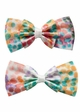 Polka Dot Bow Hair Clips Pair inset 1