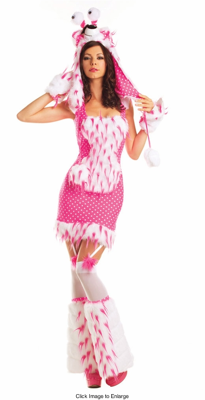 Polly Pink Monster Costume