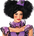 Pretty Parisian Harlequin Clown Costume