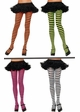 Punky Stripe Opaque Pantyhose in 11 Colors inset 1
