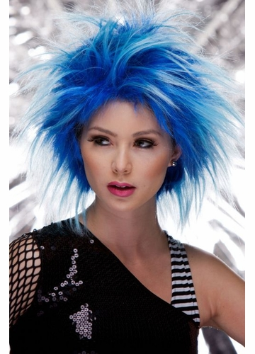 Punky Wig in Blue Haze