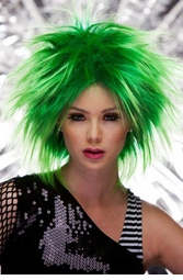 Punky Wig in Green Haze