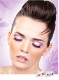 Purple and Black Graduated Lashes for $6.00