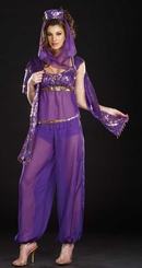 Purple Genie Costume
