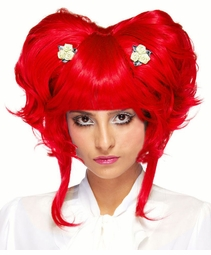 Queen of Hearts Anime Wig