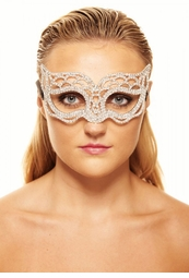 Radiant Masquerade Mask with Crystals
