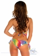 Rainbow Foil Dot Pucker Back Bikini inset 1