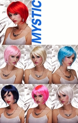 Mystic- Razor Cut Bob Wig with Bangs