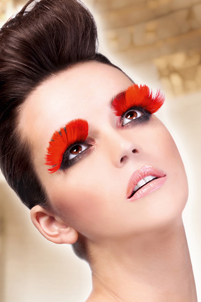 Red Feather Lashes