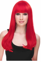 Red Glamour Wig for $29.99