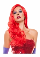 Red Hot Jessica Rabbit or Poison Ivy Wig