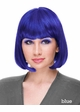Regal Blue Bob Wig with Bangs Cindy inset 1