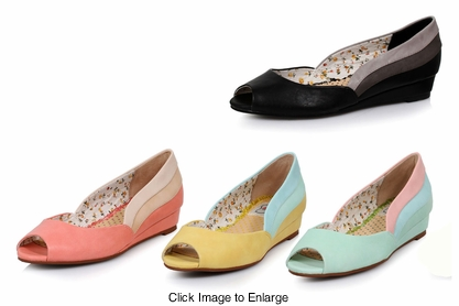 Retro Ayla Flats from Bettie Page Shoes
