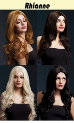 Rianne -Long Soft Curl Wig with Middle Part