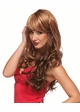 Romantic Curly Wig with Side Swept Bangs inset 1