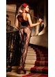 Rose Lace Bodystocking inset 1