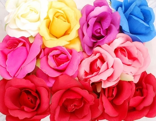 Rosie Flower Hair Clip (available in 7 colors)