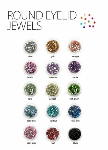 Round Eyelid Jewels