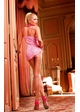 SALE  Pink Hearts Mesh Babydoll and Thong inset 1