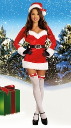 Santa Baby Christmas Costume Dress with Accessories