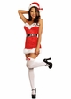 Santa Baby Christmas Costume Dress with Accessories inset 1