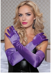 Satin Opera Langth Gloves