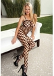 Seamless Large Net Bodystocking inset 1