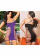 Seamless Mini Dress with Strappy Sides inset 1