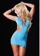 Seamless Neon Cutout Mini Dress inset 2
