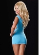 Seamless Neon Cutout Mini Dress inset 3