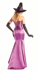 Seductive Purple Witch Costume